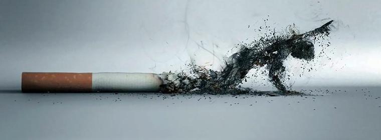 La gorge fait mal de fumer