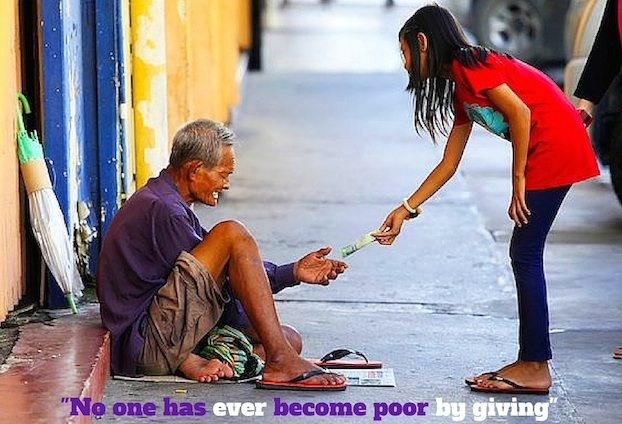 No-one-has-ever-become-poor-by-giving-